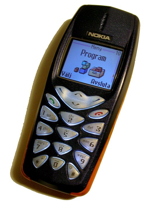 Nokia 3510 handset with colour screen